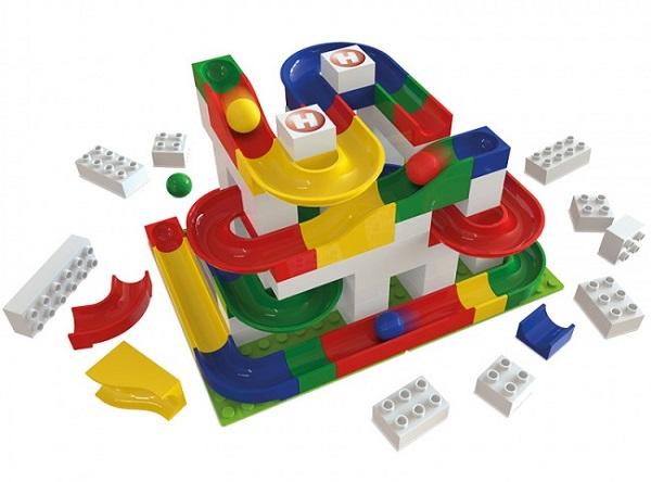 Hubelino kocke, so kocke kompatibilne z Lego DUPLO